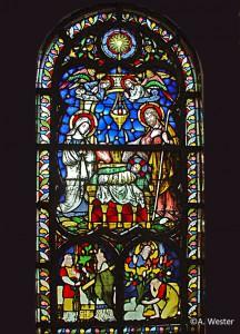 DSC03241 Chorfenster in der Pfarrkirche Brenken