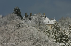 Schnee 011-Schloss