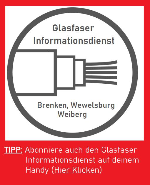 Abonniere den Glasfaser Informationsdienst